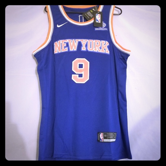 new arrival 9abf8 c7ab3 Nike Rookie RJ Barrett New York Knicks Jersey NWT